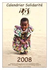 Calendrier solidarité Iris 2008
