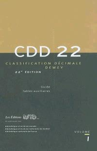 Classification décimale Dewey et index