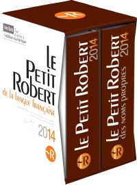 Coffret Petit Robert 2014