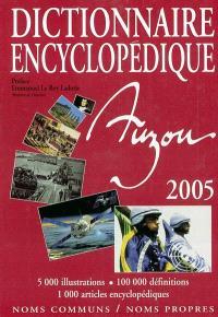 Dictionnaire encyclopédique Auzou 2005 : noms communs, noms propres