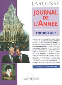 Journal de l'année : du 1er janvier au 31 décembre 2001