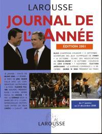 Journal de l'année, édition 2001
