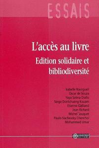 L'accès au livre : édition solidaire et bibliodiversité