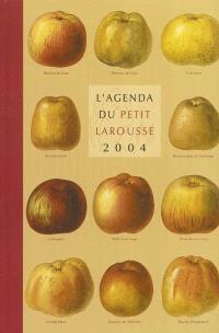L'agenda du Petit Larousse 2004