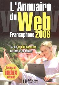 L'annuaire du Web francophone 2006