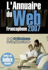 L'annuaire du Web francophone 2007