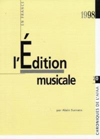 L'édition musicale en France