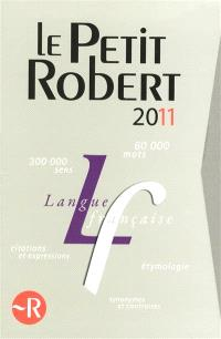 Le coffret le Petit Robert 2011