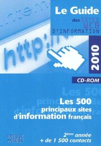Le guide des sites Web d'information 2010 : les 500 principaux sites d'information français