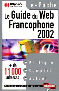 Le guide du Web francophone 2002