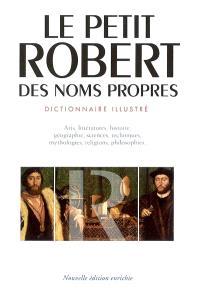 Le Petit Robert des noms propres : grand format