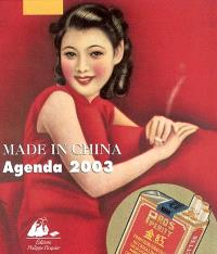 Made in China : agenda 2003, année du mouton