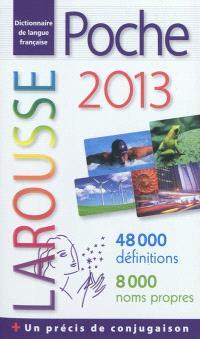 Poche 2013 : dictionnaire de langue française