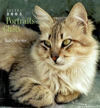 Portraits de chats : agenda 2003