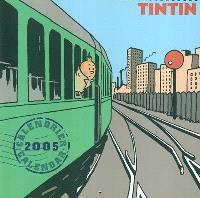 Tintin : calendrier 2005