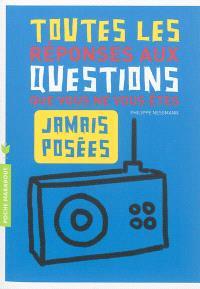 Toutes les réponses aux questions que vous ne vous êtes jamais posées : l'intégrale !