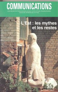 Communications. n° 55, L'Est, les mythes et les restes