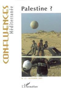 Confluences Méditerranée. n° 55, Palestine ?