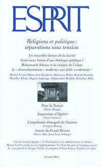 Esprit. n° 372, Religions et politique : séparations sous tension