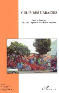 Géographie et cultures. n° 55, Cultures urbaines