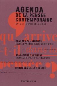 Agenda de la pensée contemporaine. n° 10