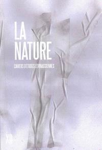 Cahiers d'études lévinassiennes. n° 12, La nature