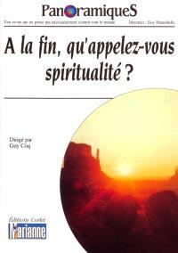 Panoramiques. n° 64, A la fin, qu'appelez-vous spiritualité ?