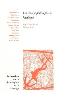 Recherches sur la philosophie et le langage. n° 26, L'invention philosophique humienne : actes du colloque de l'université de Grenoble II, les 13-15 mars 2008