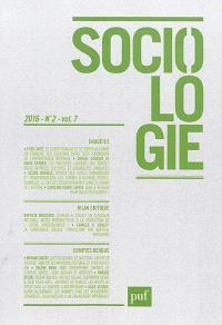 Sociologie. n° 2 (2016)