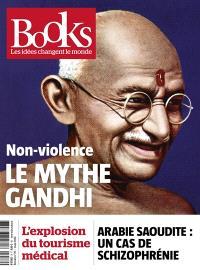 Books. n° 76, Non-violence : le mythe Gandhi