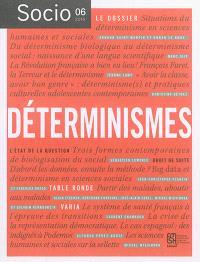 Socio. n° 6, Déterminismes