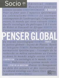 Socio. n° 1, Penser global