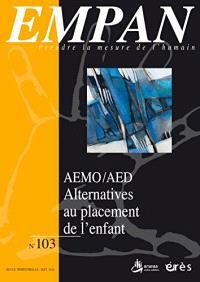 Empan. n° 103, Les dispositifs de protection des mineurs AEMO-AED