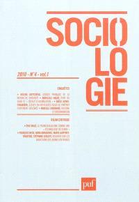Sociologie. n° 4 (2010)