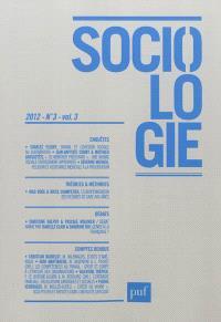 Sociologie. n° 3 (2012)