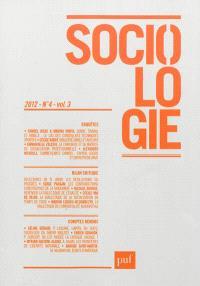 Sociologie. n° 4 (2012)