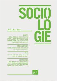 Sociologie. n° 2 (2015)