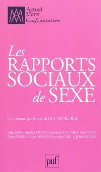Actuel Marx. n° 30, Les rapports sociaux de sexe