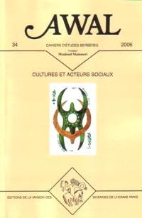 Awal. n° 34, Cultures et acteurs sociaux