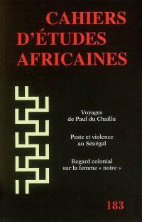 Cahiers d'études africaines. n° 183