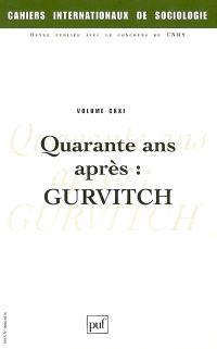 Cahiers internationaux de sociologie. n° 121