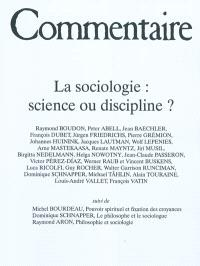 Commentaire. n° 136 bis, La sociologie, science ou discipline ?