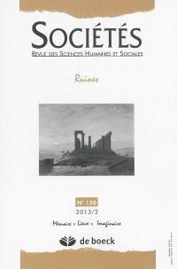 Sociétés. n° 120, Ruines