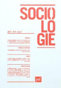 Sociologie. n° 4 (2011)