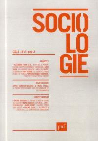 Sociologie. n° 4 (2013)