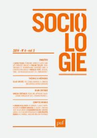 Sociologie. n° 4 (2014)