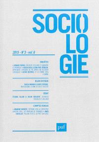 Sociologie. n° 3 (2015)