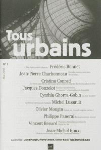 Tous urbains. n° 1 (2013)