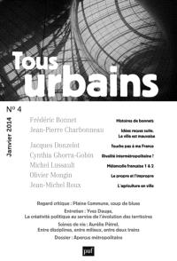 Tous urbains. n° 4 (2013)