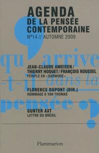 Agenda de la pensée contemporaine. n° 14